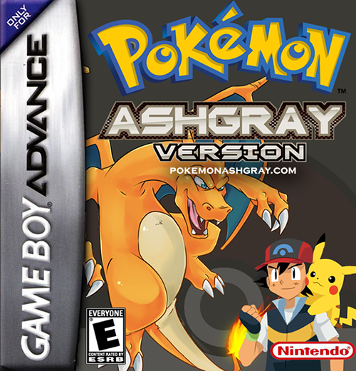 Pokemon Ash Gray Official Box Art