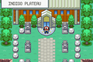Pokemon Ash Gray Indigo Plateau